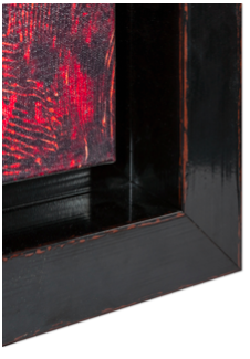 caisse americaine noire rouge