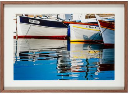 photo bateau cadre chene