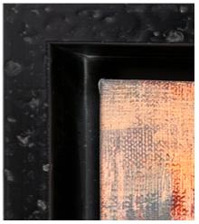 baguette noire martelée isabelle aubry