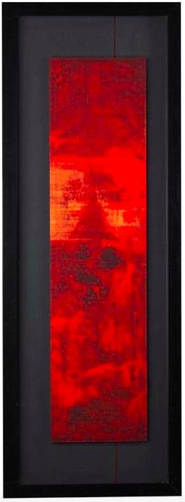encadrement noir rouge