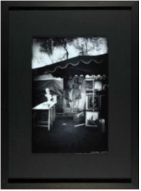 cadre photo noir blanc