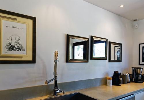 encadrement villa luxe tableau
