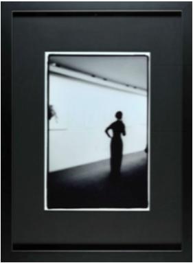 photo noir blanc fond noir