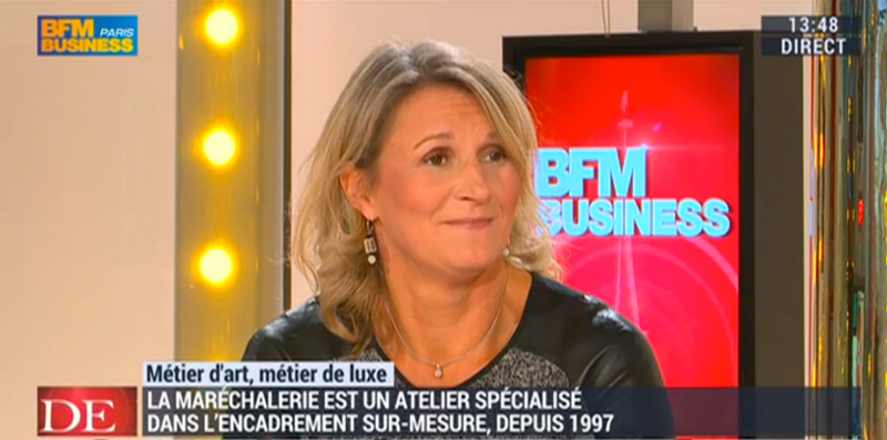 interview bfm business marechalerie paris