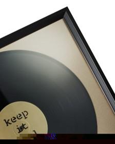 encadrement cadre disque vinyle