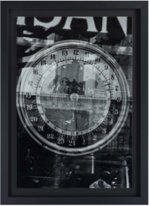 cadre photo fond noir