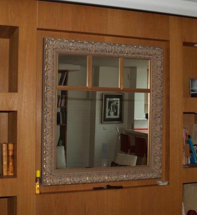 encadrer un miroir definition