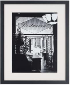 photo noir blanc cadre