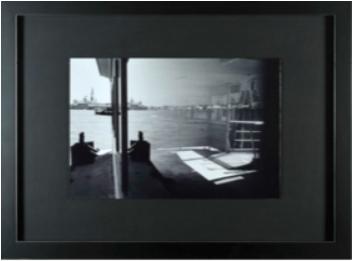 photo paysage noire mat