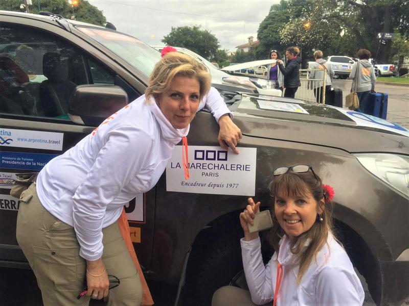 Trophée Roses des Andes : La Maréchalerie sponsorise un équipage !
