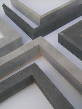 baguettes hausse aspect beton