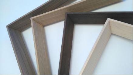 baguettes toit pentu bois plaqué