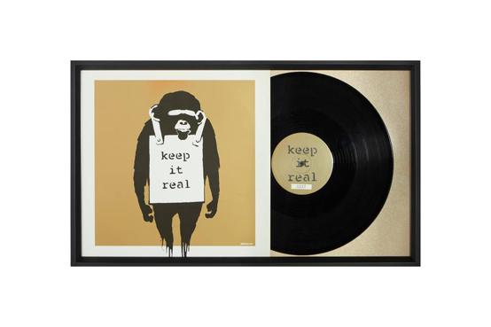 encadrement objet disque vinyle
