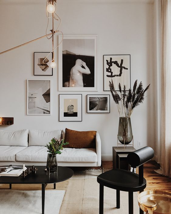 décoration murs encadrement photos @ouideco.fr