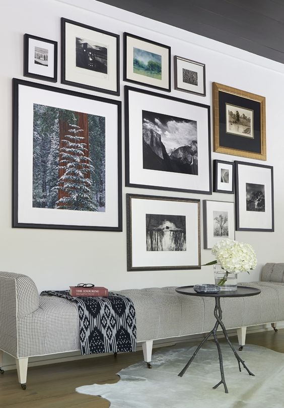 encadrement cadres murs décoration