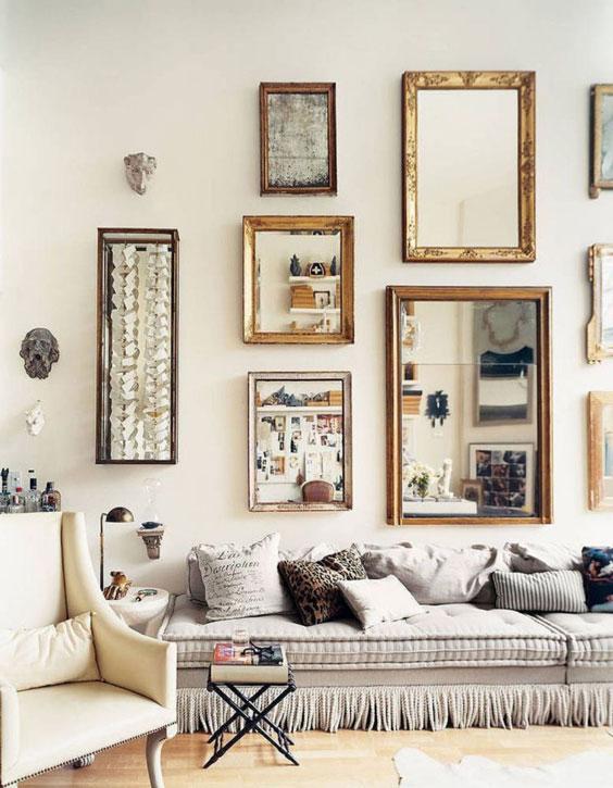 encadrement miroir cadres décoration
