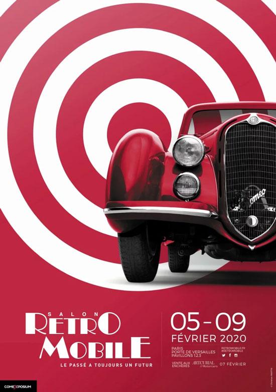 affiche retromobile 2020